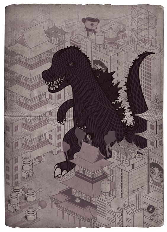 Stephen Chan, Liverpool-based illustrator (via IdN)
