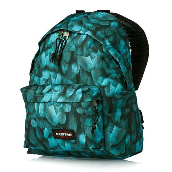 sac dos padded eastpak vert plume eastpak pinterest. Black Bedroom Furniture Sets. Home Design Ideas