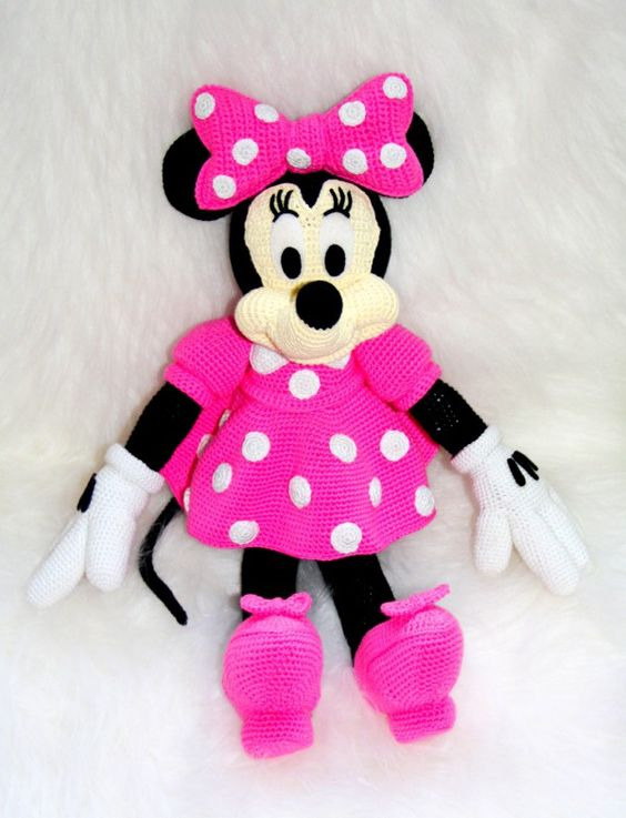 Amigurumi, Minnie Mouse and Mause on Pinterest