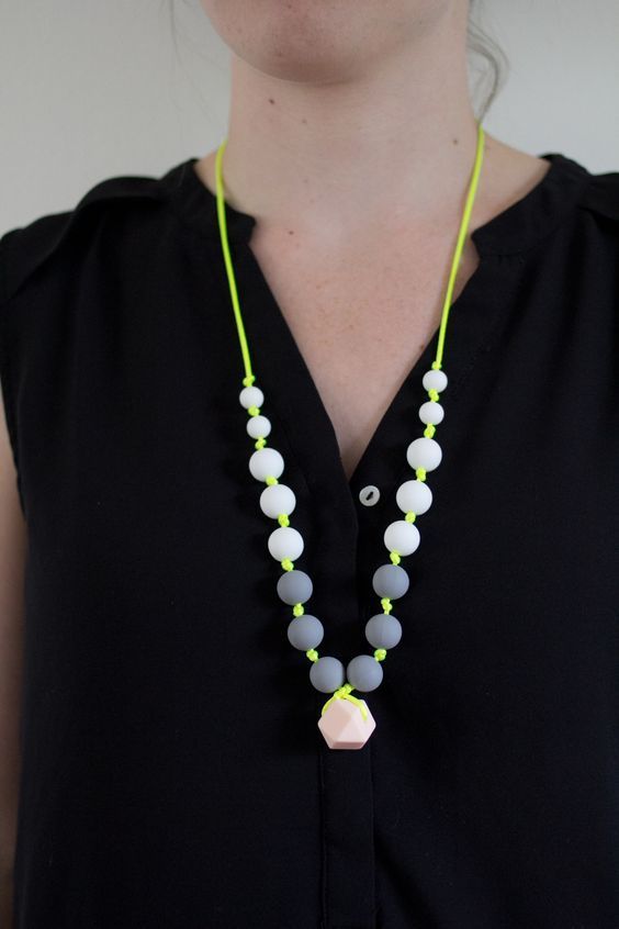 """The """"Rebecca"""" Teething Necklace"""