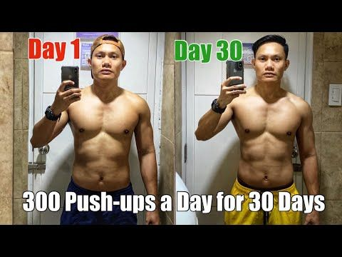 300 Push Ups A Day For 30 Days Results Featuring Different Push Up Techniques Youtube Push Up 30 Day Push Up Push Up Results