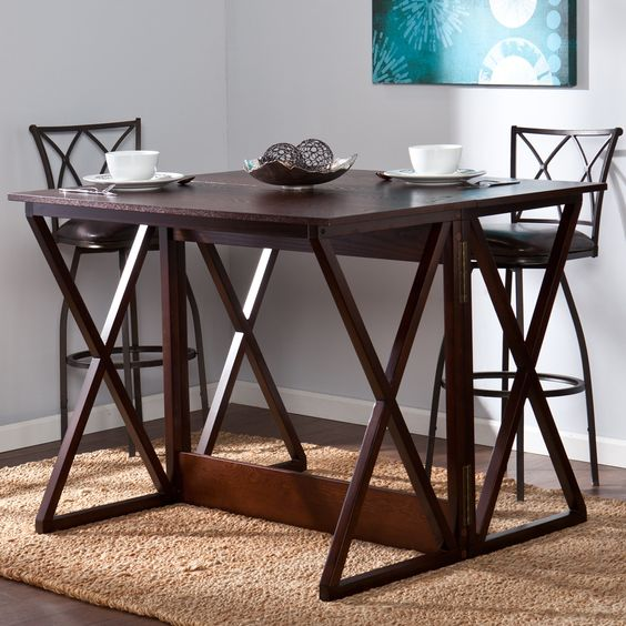 Counter Height Gateleg Table : ... Wood/Metal Coffee Table Pinterest Home, Tables and Dining tables