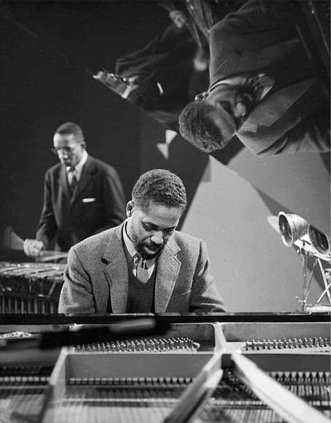 American Jazz musicians John Lewis and Milt Jackson from the ...