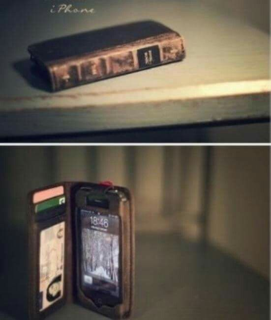 BookBook iPhone Case  and a Wallet in one ❤️  Find some Pins ! We can  DIY this BookWallet❗️