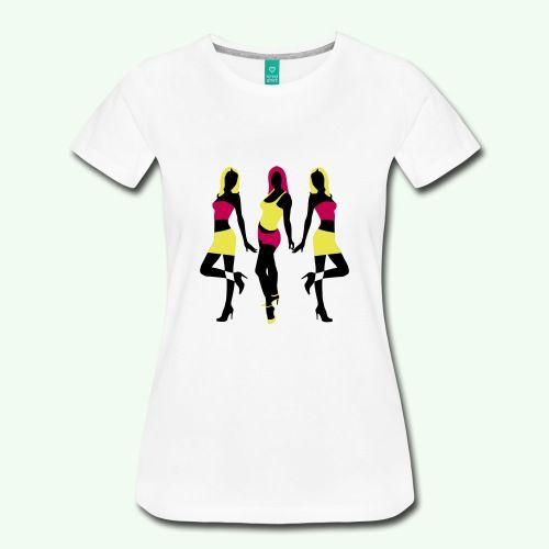 FACE QUEEN - Women's Premium T-Shirt