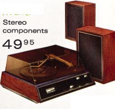 Your first stereo record player as a teen.