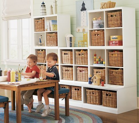 future play room... nick could totally build this wall unit!