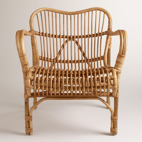 Cole rattan chair world market for the home for Cane and wicker world