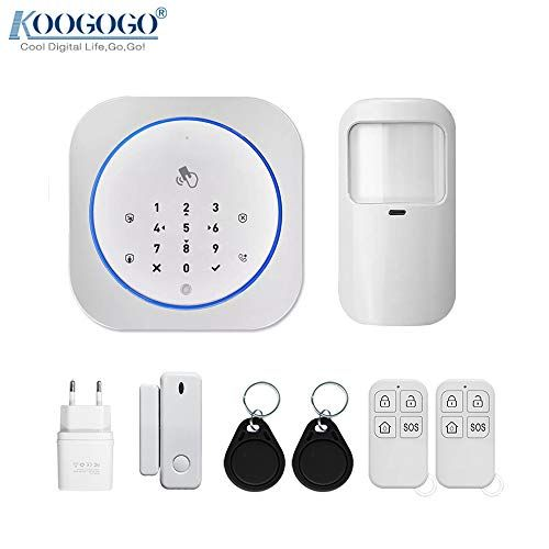 Koogogo G10 Tuya Wifi Alarm System Wireless 433mhz Freque Https Www Amazon Sg Dp B083941l Wireless Surveillance System Home Security Home Security Systems