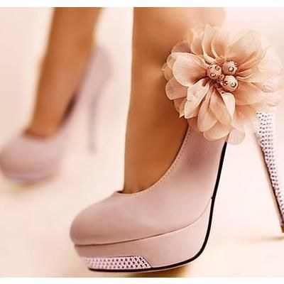 Wow, these heels are so pretty!