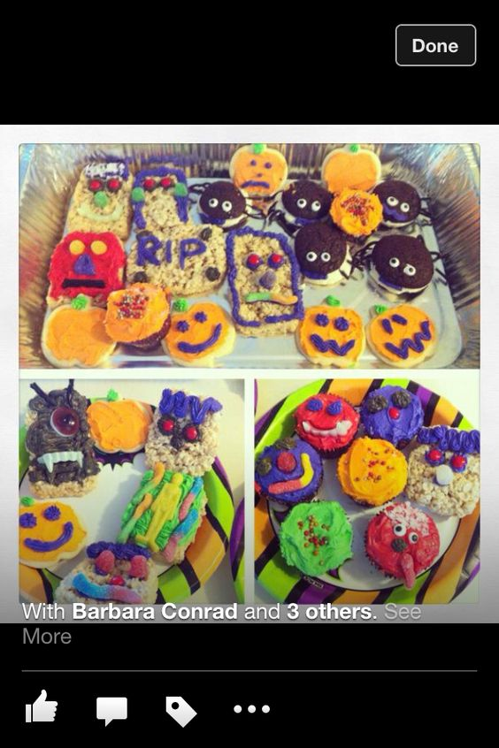 Halloween goodies! Easy and delicious!