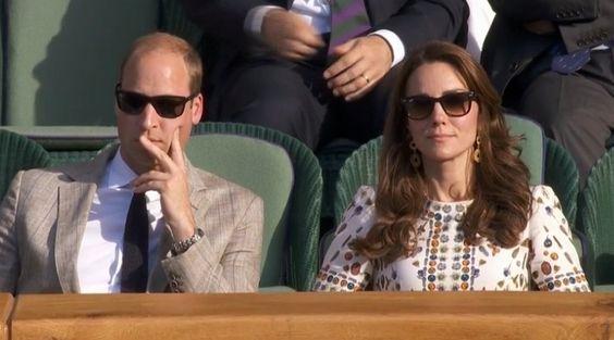 Kate Middleton eclipsa en la final de Wimbledon con un sofisticdo vestido de Alexander McQueen...
