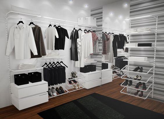Opção closet: