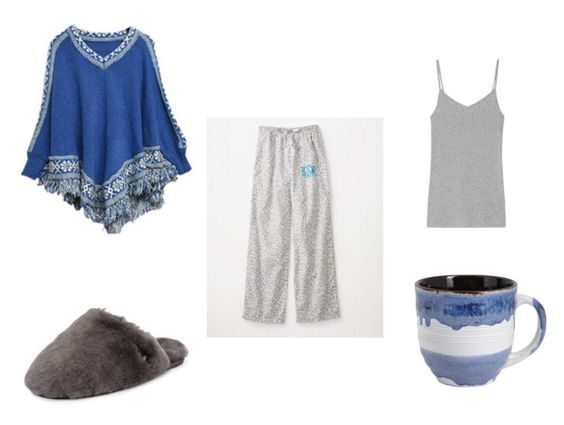 Sleepy Blues by sgaffney on Polyvore featuring Splendid, UGG Australia, Pier 1 Imports, women's clothing, women's fashion, women, female, woman, misses and juniors: