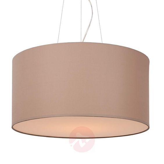 Uniwersalna lampa wisząca Coral szarobrązowa 60 cm   Lampa