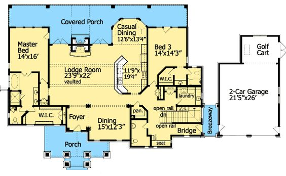 house plans cottages and finished basements on pinterest