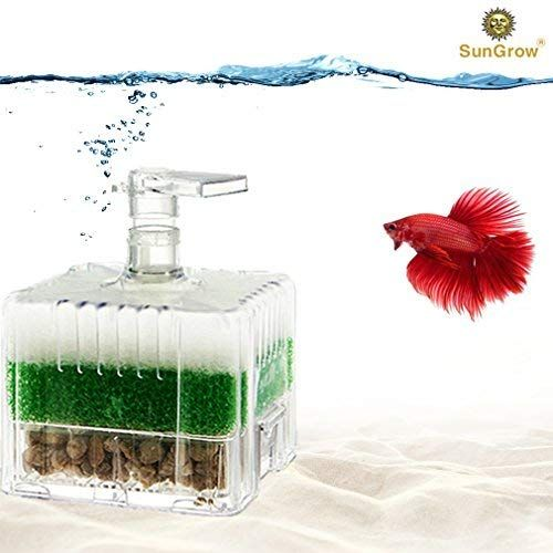 Salt Water Aquarium Filter Sungrow 10 Gallon Sponge Filter Underwater Center Aquarium Filter In 2020 Aquarium Filter Aquarium Saltwater Aquarium