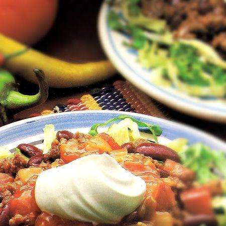 Salada de Carne com feijão