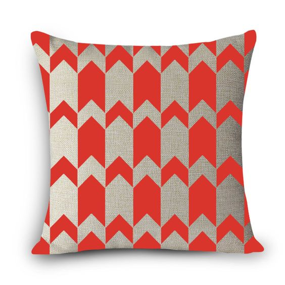 Geometric Print Home Decorative Cushion Throw Pillow Covers 18""