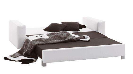 Nett 2er sofa mit schlaffunktion