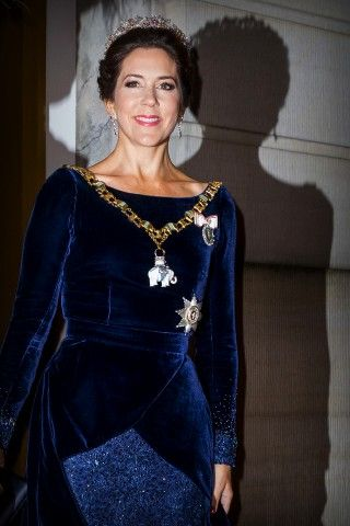 Royal Family Around the World: Danish Royals attend New Year's banquet at the royal palace Amalienborg in Copenhagen January 1, 2016.