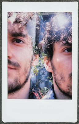Things to try with my instax: double exposure portraits