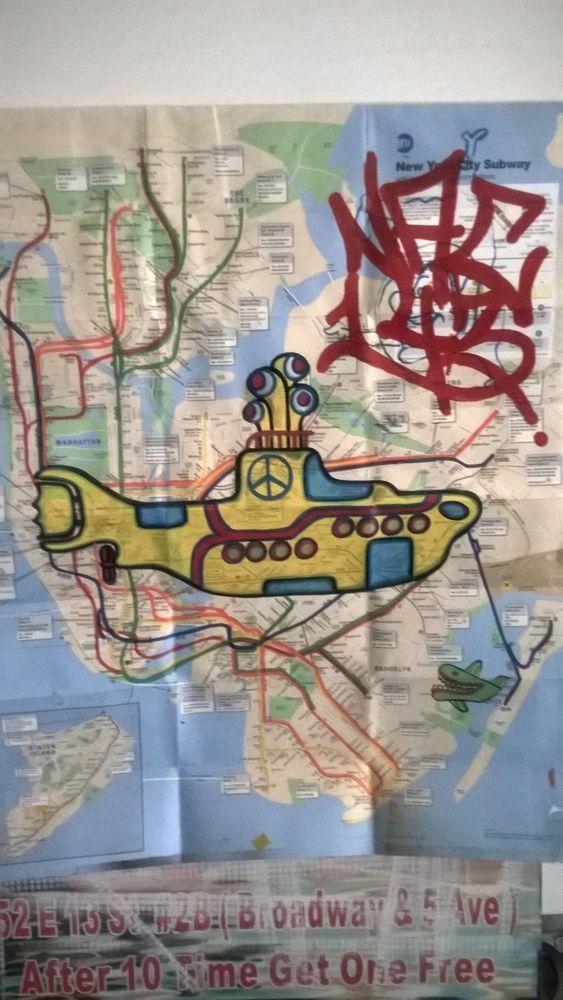 NY GRAFFITI MAP