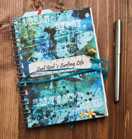 Just had a delivery of our latest surf girl journals! For your dreams and thoughts
