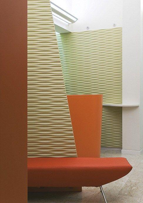 Panel de pared 3D de MDF THALWEG MDF by Marotte®