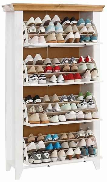 Home Affaire Schuhschrank Skandinavia In 2 Grossen Online Kaufen Schuhschrank Schrank Schuhablage Schrank