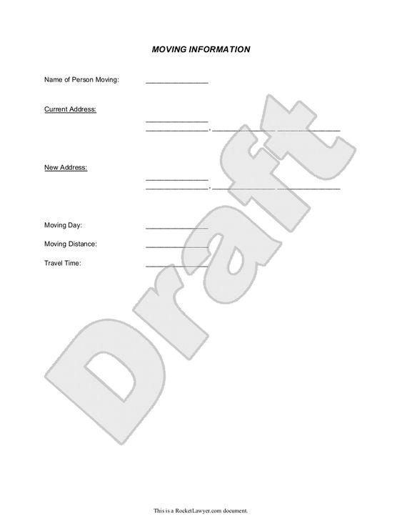 Notice Of Change Of Address Letter Form, Template Dwarka Sector   Affidavits  Template  Affidavits Template
