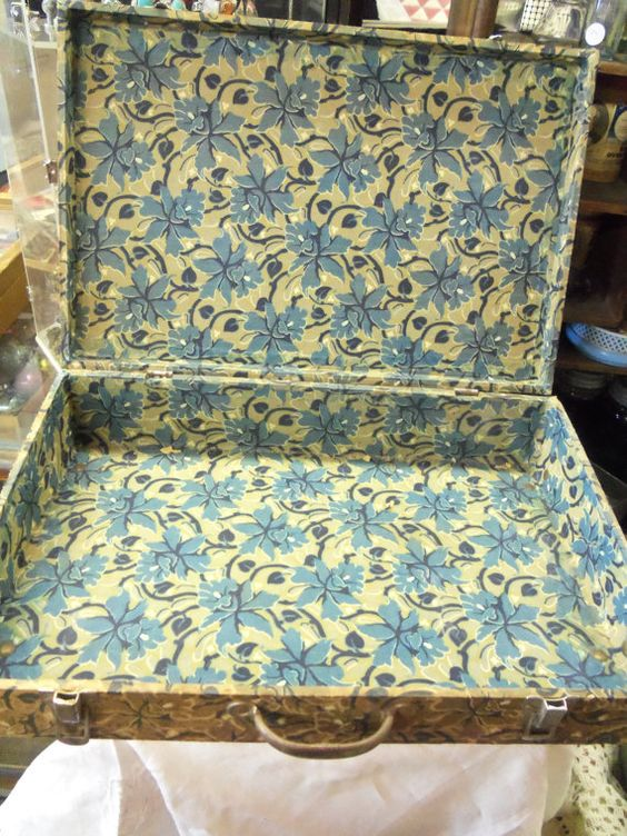 Shabby Antique Victorian Floral Cloth Covered by rustysecrets, $65.00