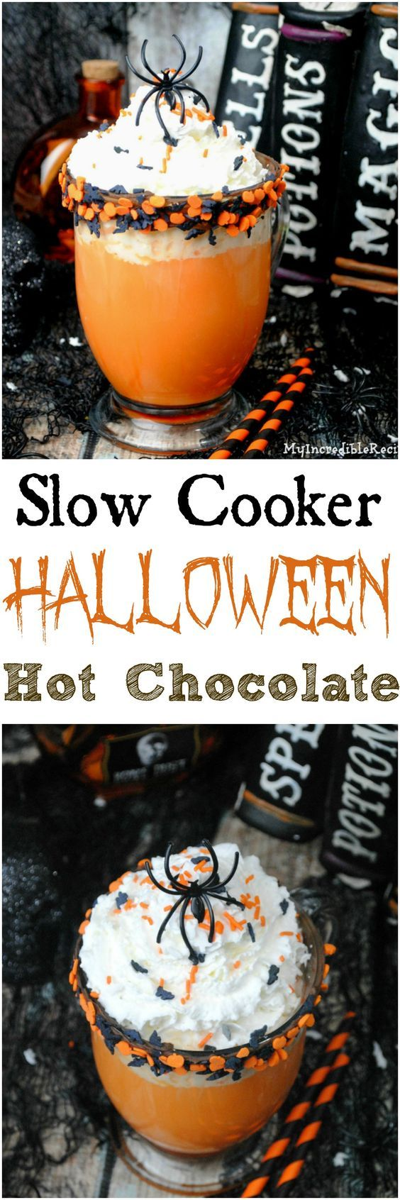 Melting Witch Hot Chocolate | Recipe | Halloween party, Halloween ...