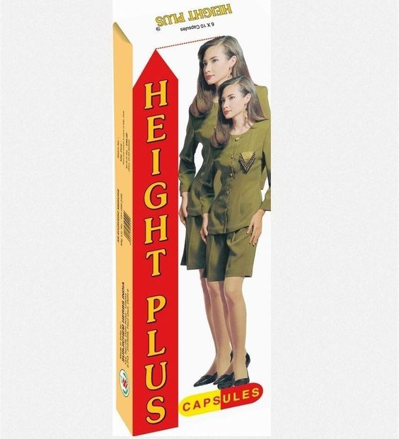 2 X Height Plus - 60 Capsule / Pack - Fresh Stock - Fast Shipping #HEIGHTPLUS