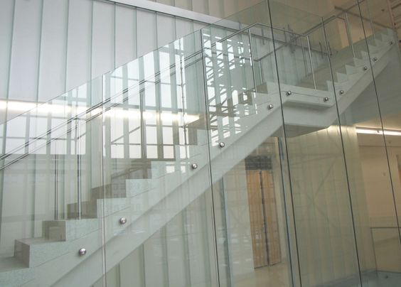 Best 700 Series Fascia Mounted Glass Railing System Stairs 400 x 300