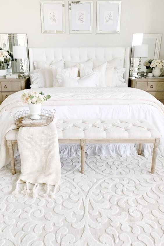 Cozy Chic White Bedroom Ideas From Amazon Master Bedrooms Decor Shabby Chic Decor Bedroom Chic Bedroom Decor
