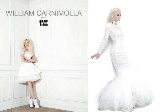 Robe de Mariée : William Carnimolla pour Tati Mariage 2014  Mariage ...