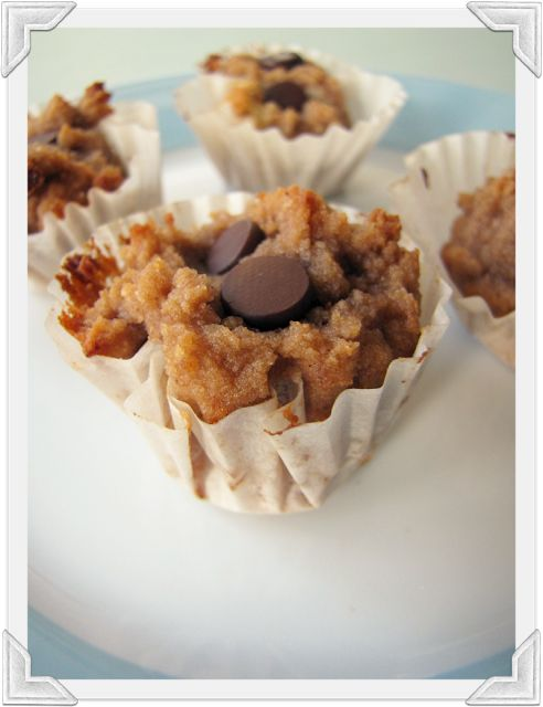My House of Giggles: Gluten Free Coconut Flour Chocolate Chip Mini Muffins (GAPS/Paleo/SCD Diet friendly)