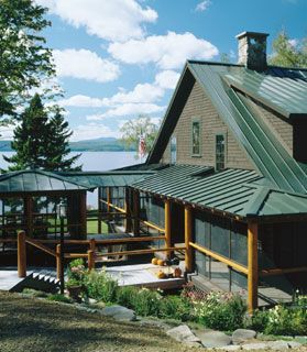 Driftwood Camp Oquossoc, Maine Photography: Brian Vanden Brink Whitten  Architects | Cabin Fever | Pinterest | Metal Roof, Metal Roof Houses And  Metals