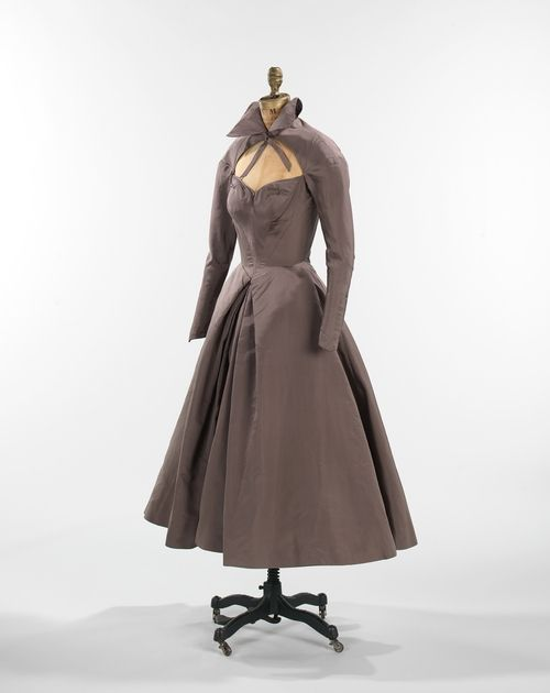 """Charles James ""Infanta"" dress ca. 1950 via The Costume Institute of the Metropolitan Museum of Art"""
