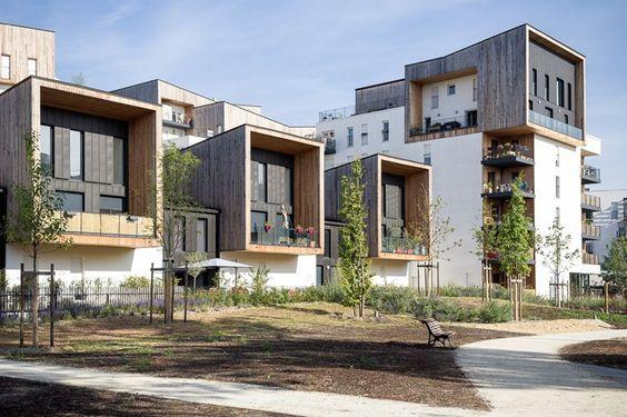 eco quartier ginko bordeaux brochet lajus pueyo agence d 39 architecture eco quartier. Black Bedroom Furniture Sets. Home Design Ideas