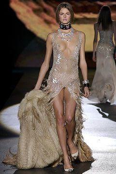 Roberto Cavalli Fall 2003 Ready-to-Wear Fashion Show - Karolina Kurkova, Roberto Cavalli
