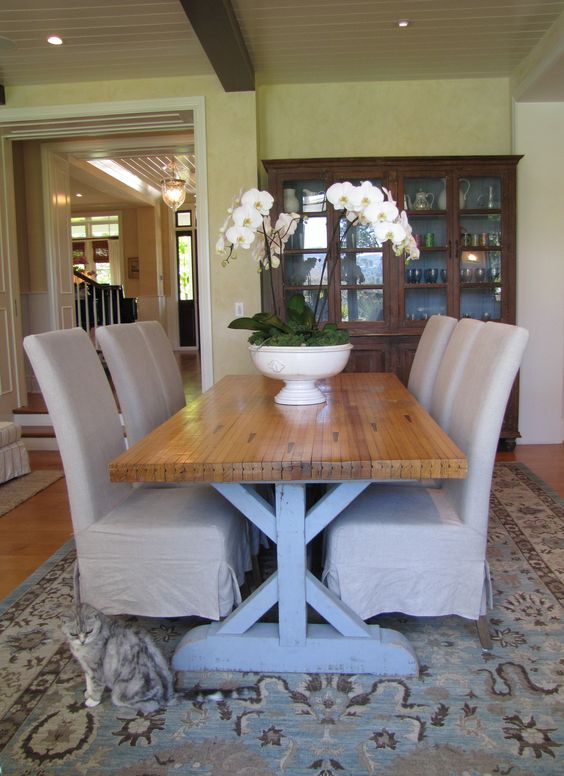 Beautiful Table Made From Recycled Bowling Lane! Part 18