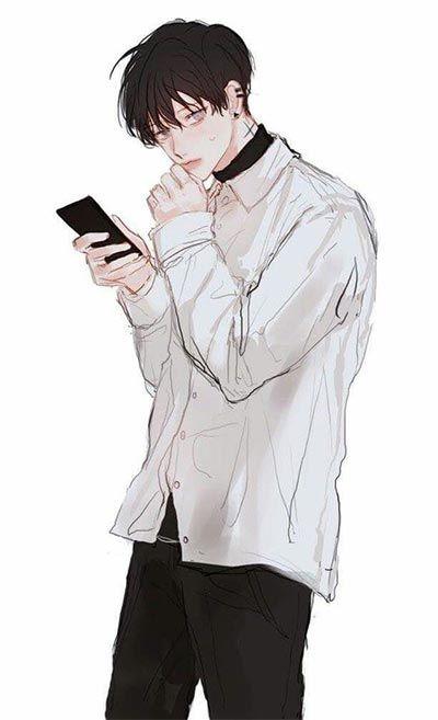 ร ปการ ต นผ ชายหล อๆเท ๆ Anime Drawings Boy Boy Art Anime Art