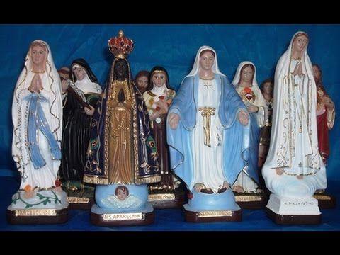 Veja o poder que tem as imagens dos santos católicos. IMPRESSIONANTE!
