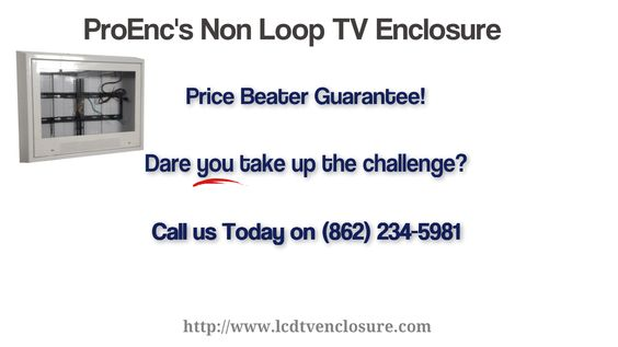 TV enclosures for correctional facilities
