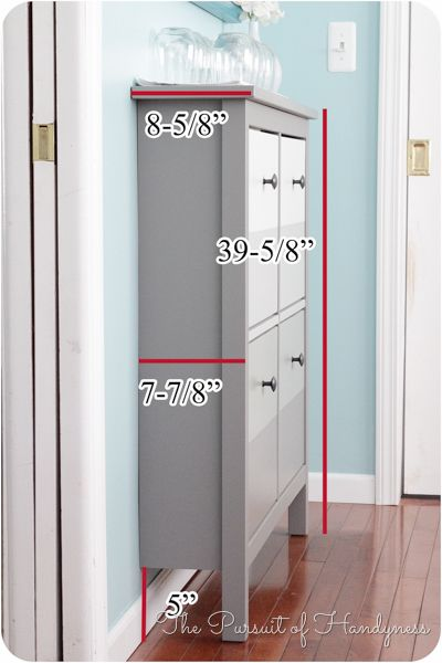 Ikea hemnes shoe cabinet dimensions home pinterest doors sit on top and cabinets - Shoe cabinet for small spaces concept ...