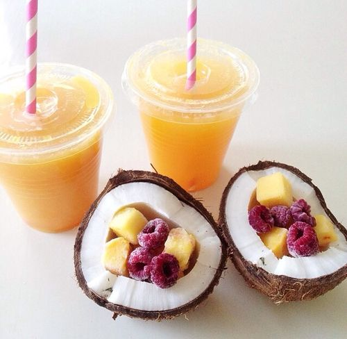 Smoothies & coconut