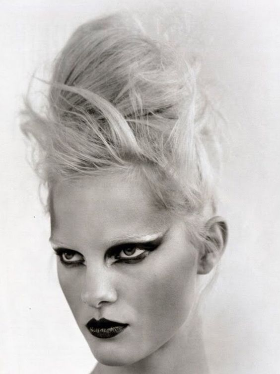 cool editorial updo