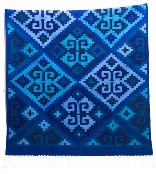BLUE REY RUG (LG)